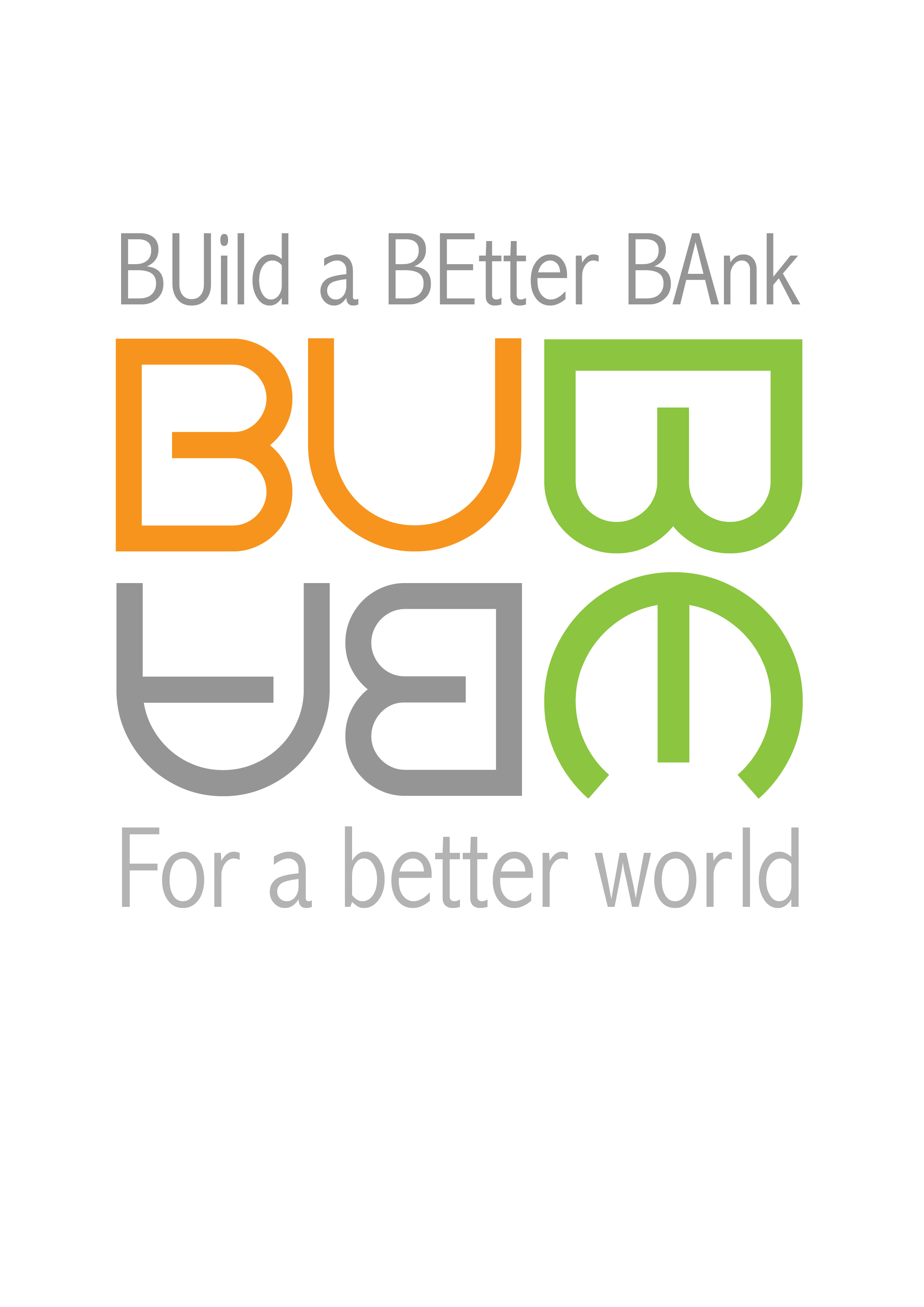 BUBEBA  Build a Better Bank
